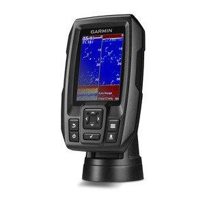 Sonar para Pesca Garmin Striker 4 Plus 010-01870-01 Tela de 4.3 com GPS - Preto