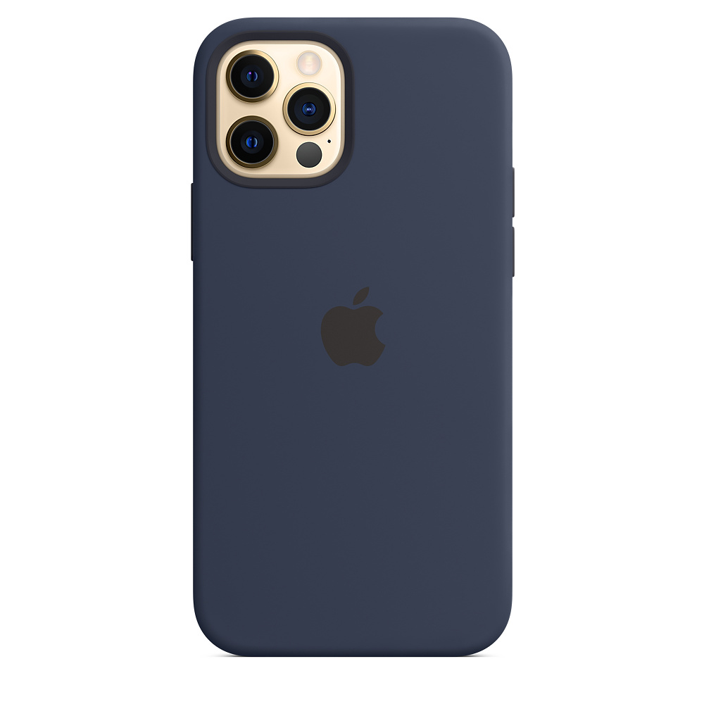 Capa de Silicone Iphone 12 Pro Apple MHL43ZM/A - Deep Navy