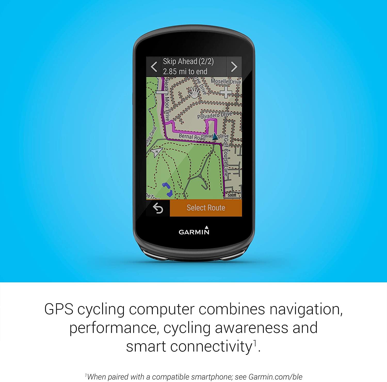 GPS Garmin Edge 1030 Plus 010-02424-00 Preto/Branco