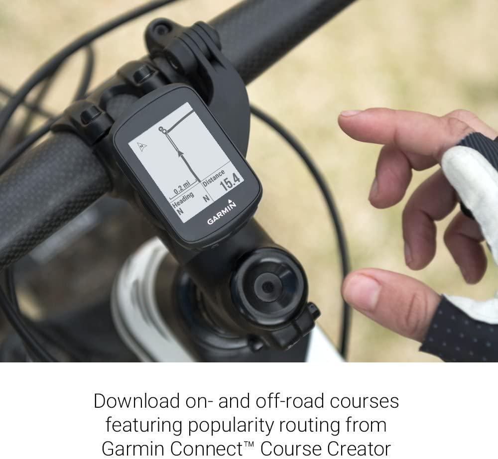 GPS Garmin EDGE 130 Plus 010-02385-00 Tela 1.8 Bluetooth - Preto