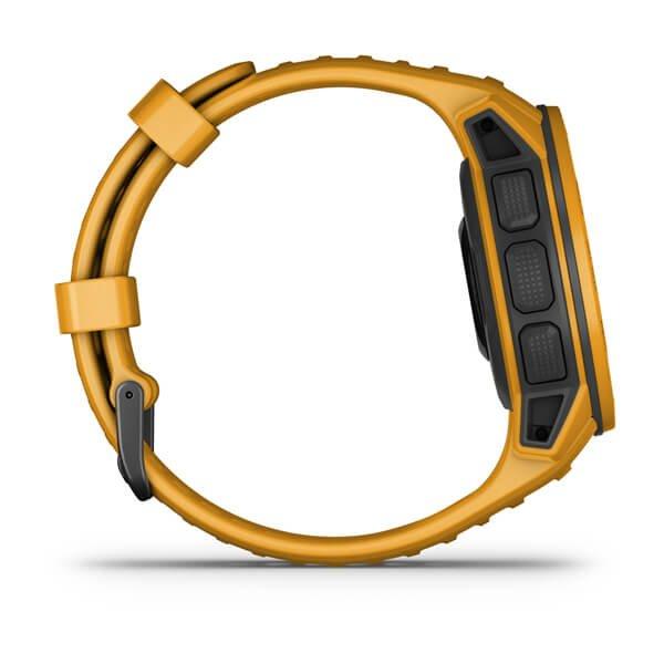 Smartwatch Garmin Instinct Solar 010-02293-19 com GPS/Bluetooth - Sunburst