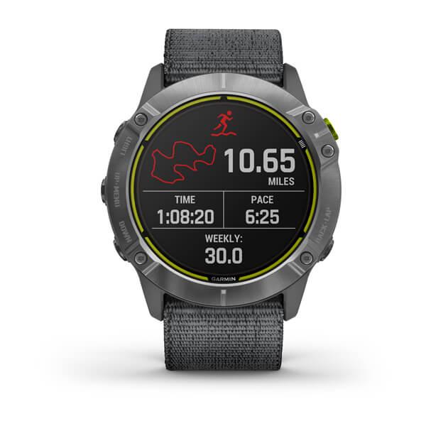 SmartWatch Garmin Enduro GPS Solar 010-02408-00 - Steel Black